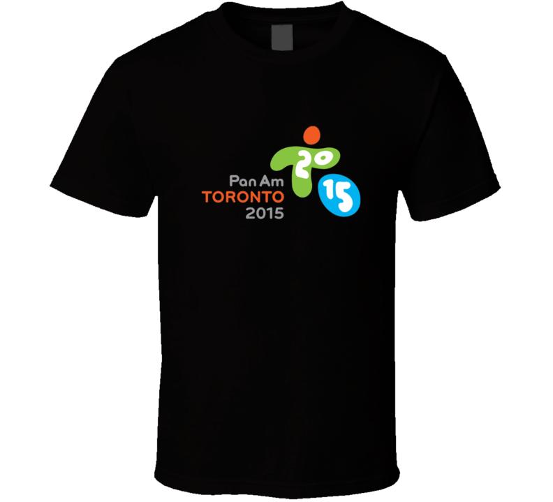 2015 Toronto Pan Am Games Logo T Shirt