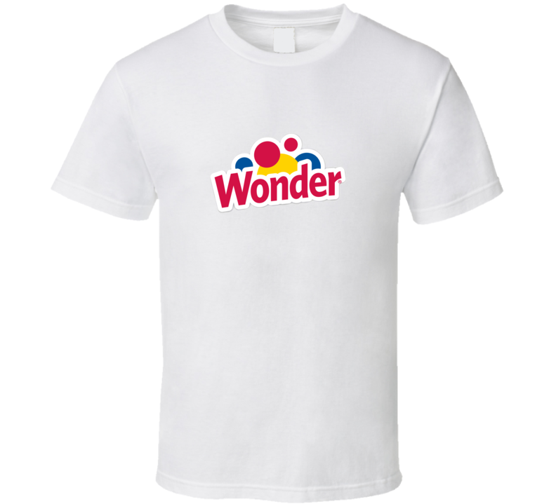 Wonder Bread Brand Food Fan T Shirt