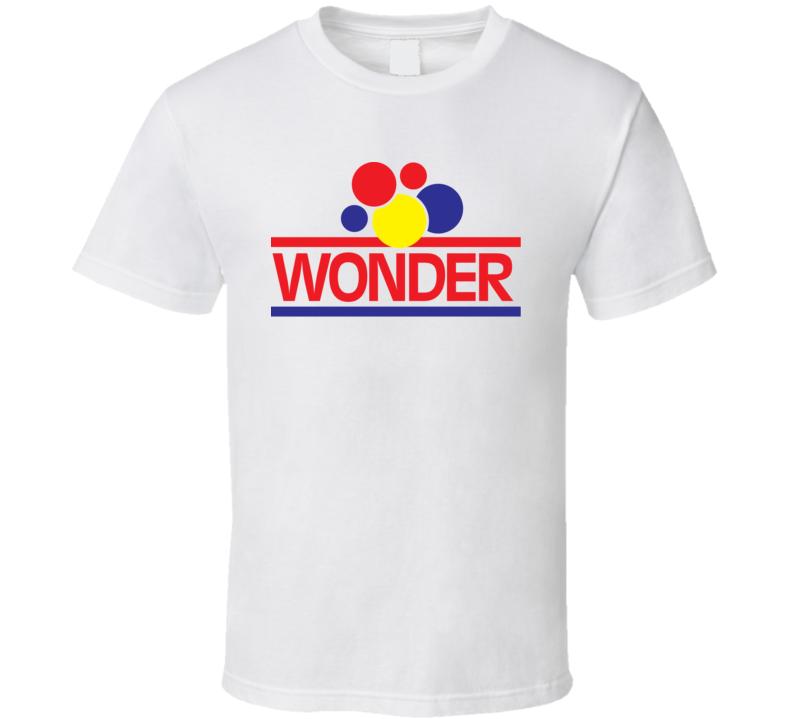 Wonder Bread Brand Food Fan T Shirt