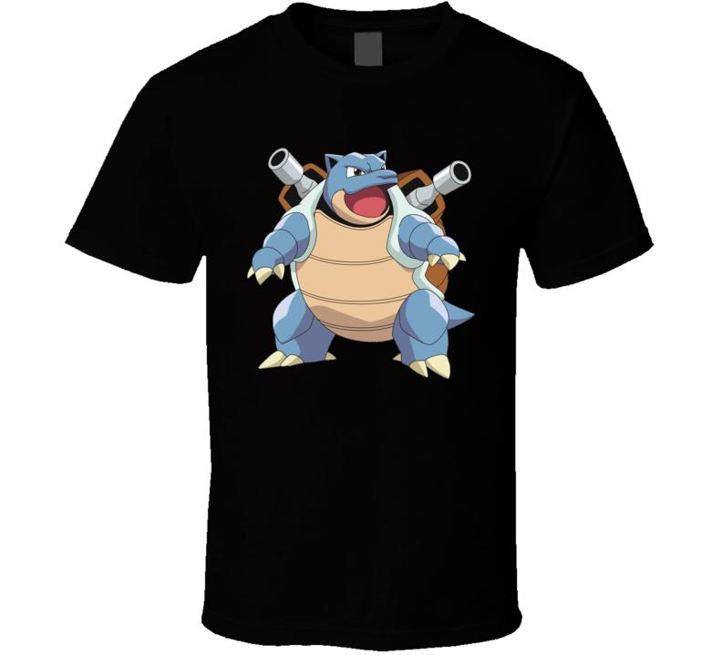 Blastoise Pokemon Character Fan T Shirt