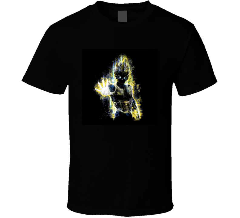 Vegeta super saiyan god shirt t shirt tee