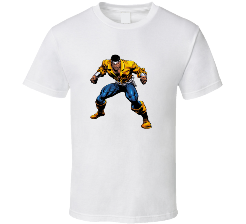 Marvel Luke Cage Shirt Cool Cartoon