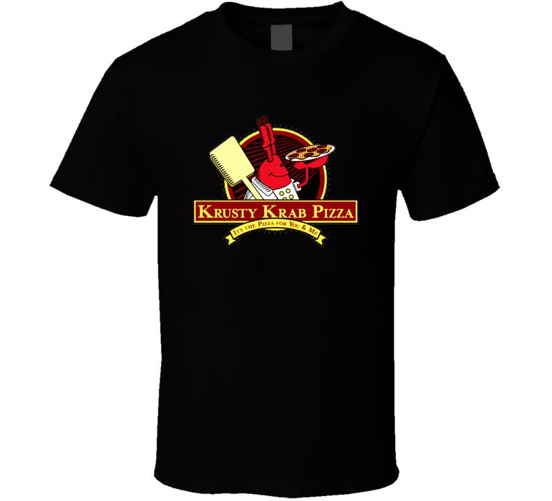 Krusty Krab Pizza Sponge bob t-shirt