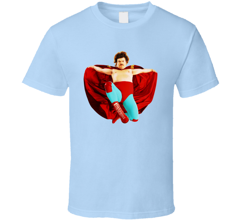 Nacho Libre Jack Black Movie Funny Comedy T Shirt