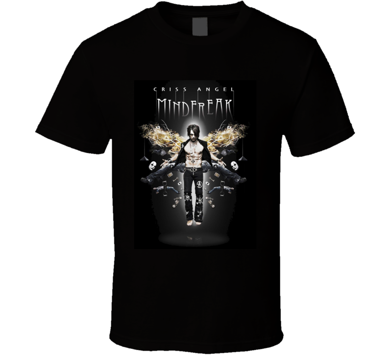 Criss Angel Mind Freak Magician Illusionist T Shirt