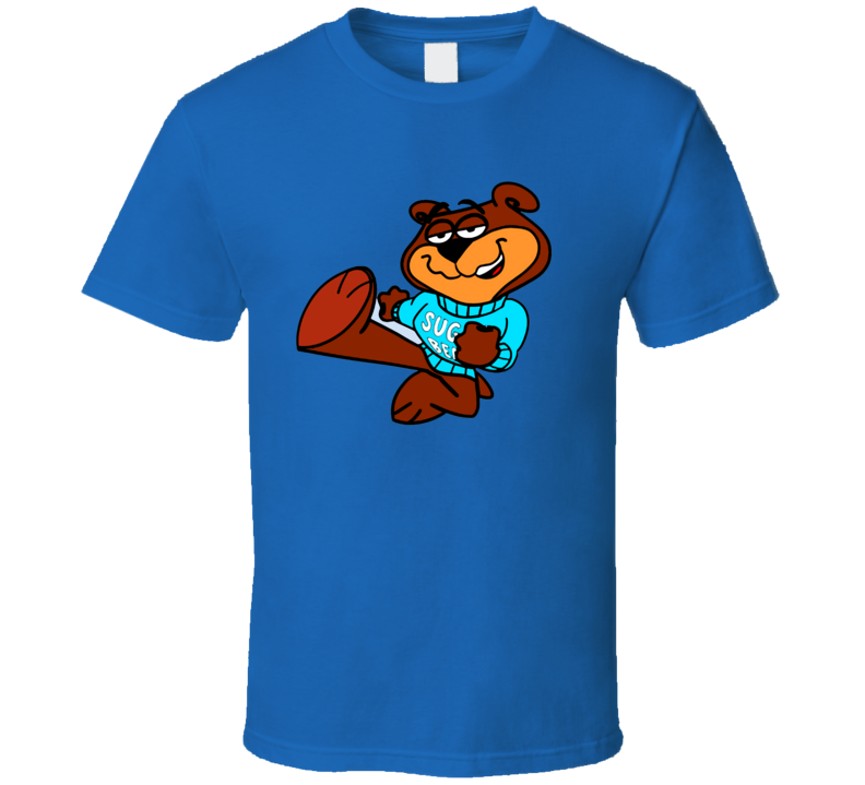 Sugar Bear Cereal Cartoon Mascot Fun Kids T Shirt