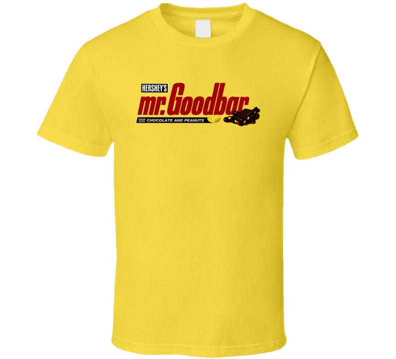 Mr Goodbar Chocolate Candy Bar Sweet T Shirt
