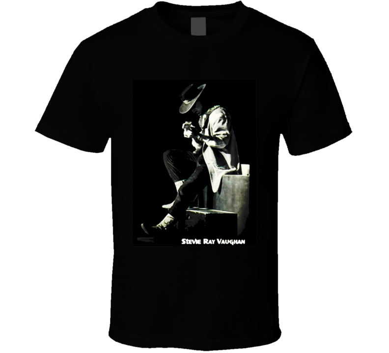Stevie Ray Vaughan Great Electric Guitarist T Shirt