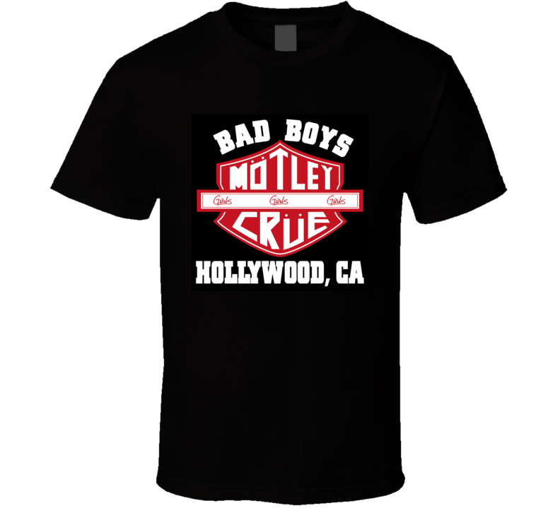 bad boy motley crue T Shirt