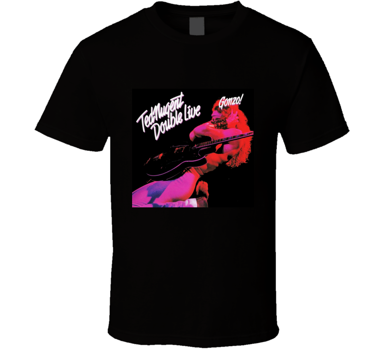 Ted Nugent Double T Shirt Mens T-shirt