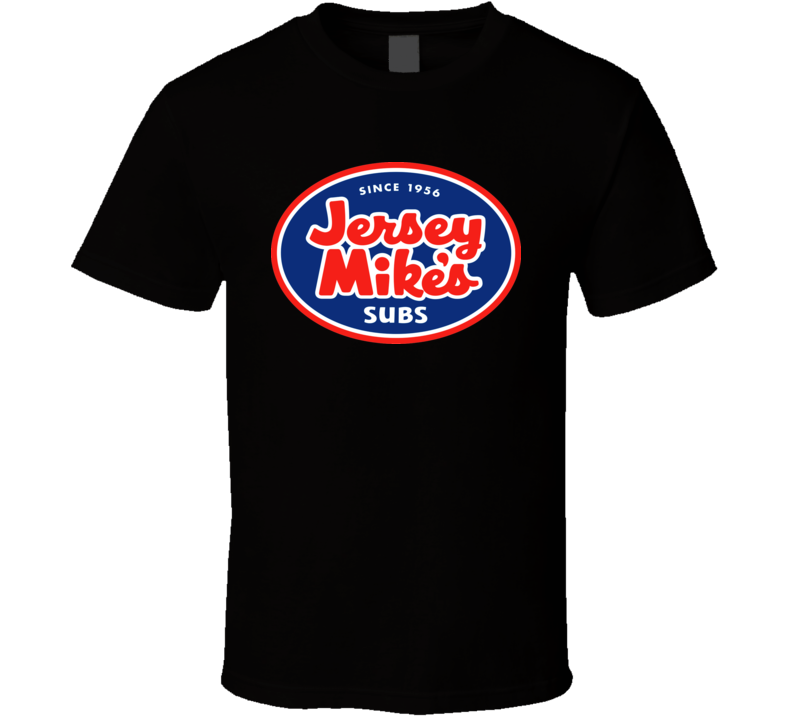 Jersey Mikes Subs Fast Food Restaurant  T shirt