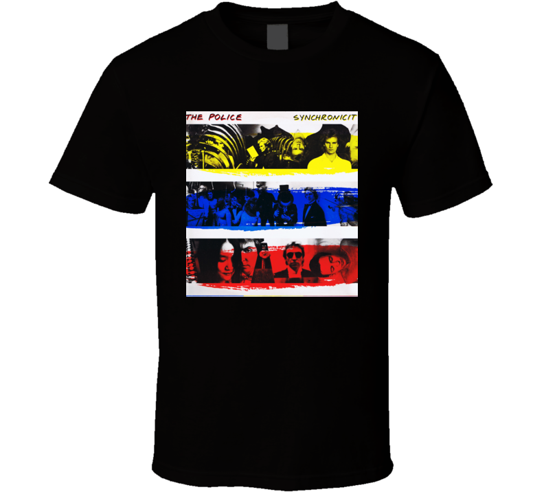 The Police Synchronicity Album Cover T shirt