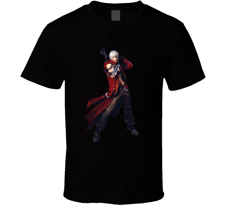 devil may cry 3 games t shirt