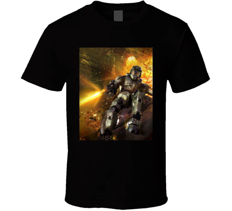 halo 2 games t shirt