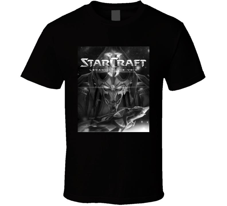 starcraft games t shirt