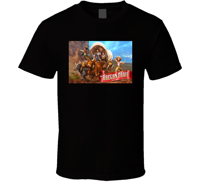 The Oregon Trail games t shirt