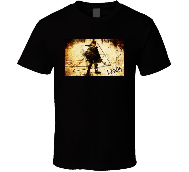 the legend of zelda games t shirt