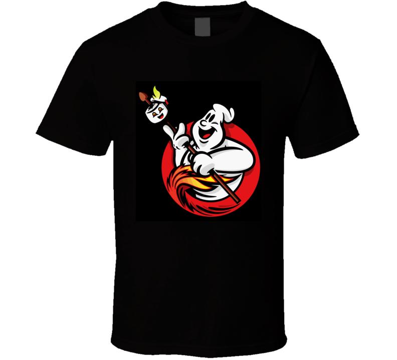 Ghostbusters Cast Logo T Shirt