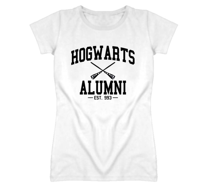 hogwarts alumni ladies T Shirt