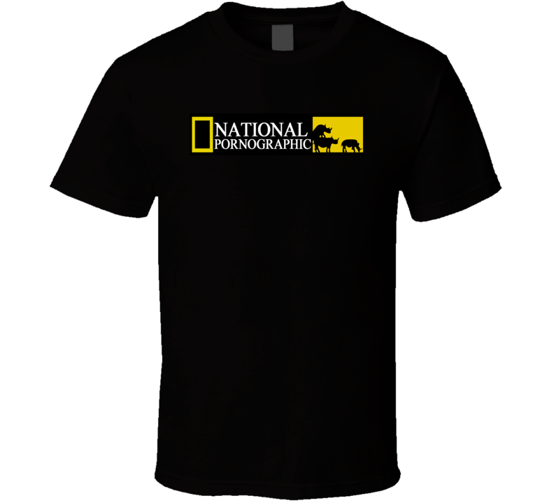 national geographic parody T Shirt