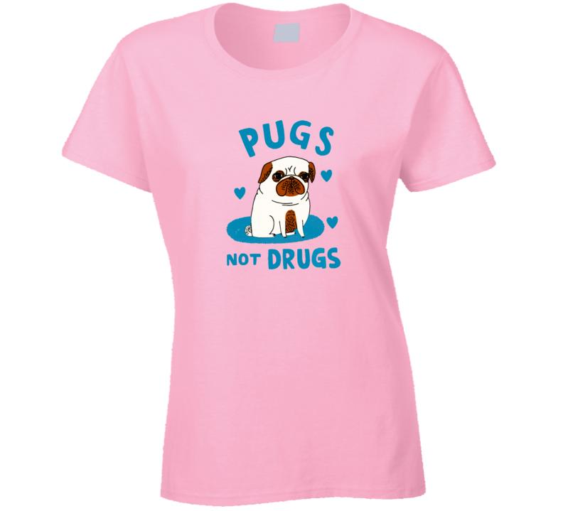 Pugs dog ladies T Shirt