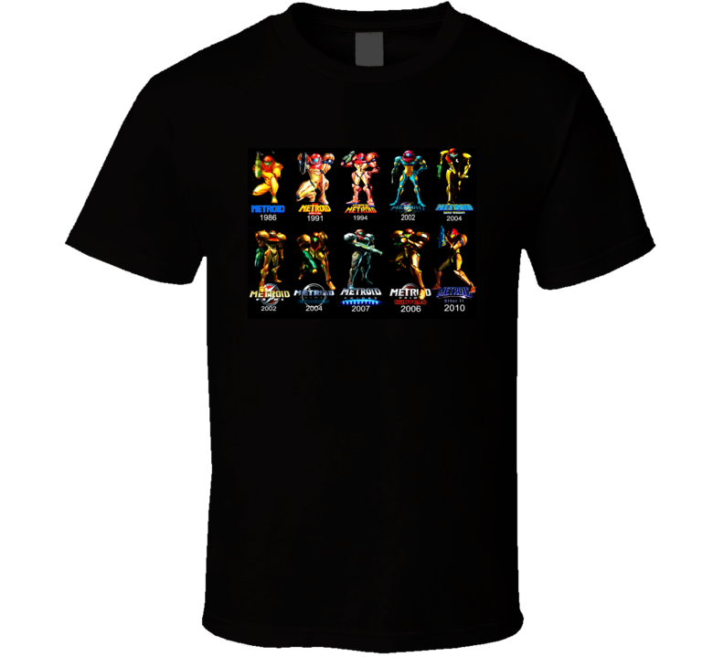 samus evolution metroid prime T Shirt