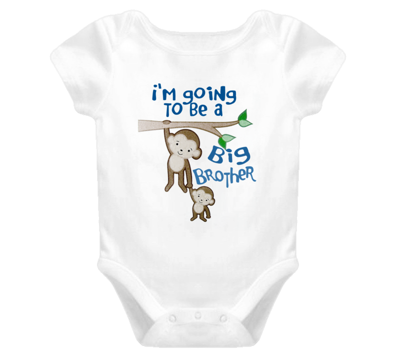 74cc9d166 I'm Going to be Big Brother-Big Brother Onesie, Monkey Shirt, Big ...