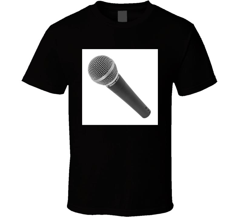 Microphone T Shirt