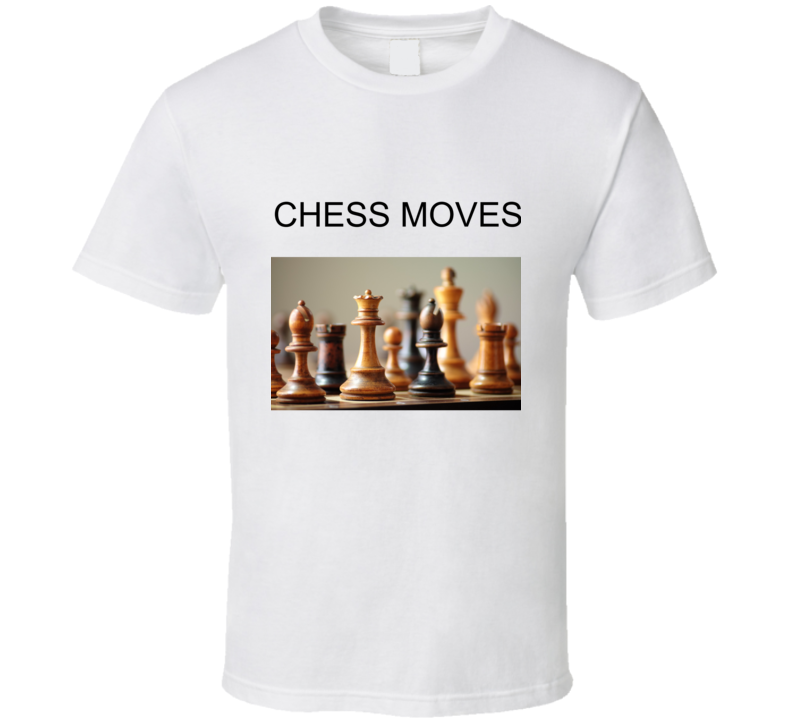 Chess Moves T Shirt