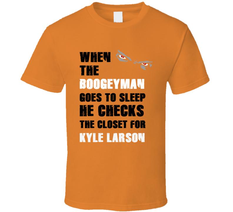 Kyle Larson Sports Boogeyman T Shirt