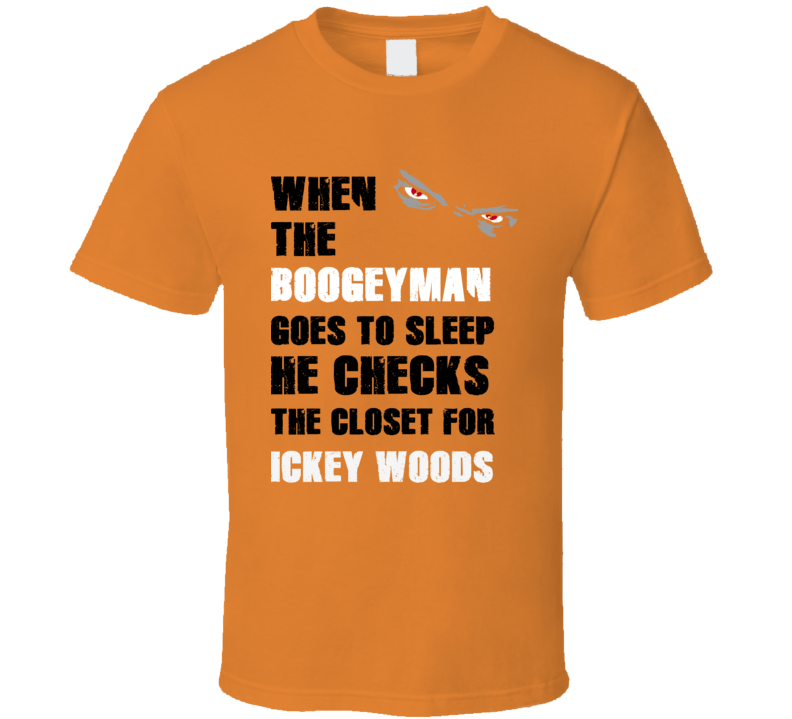 Ickey Woods Sports Boogeyman T Shirt