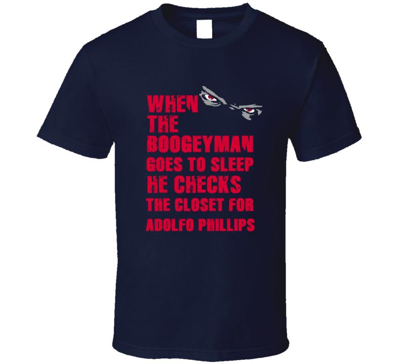 Adolfo Phillips Cleveland Baseball Sports Boogeyman T Shirt