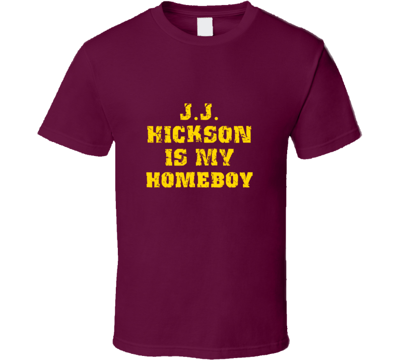 J J Hickson Is My Homeboy Cleveland Sports Basketball T Shirt