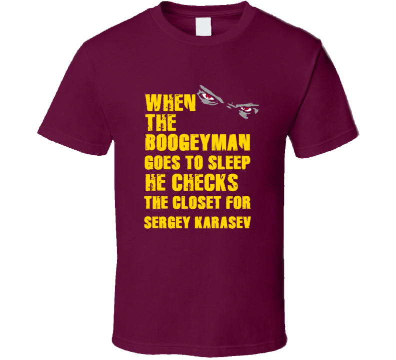Sergey Karasev Boogeyman Cleveland Sports Basketball T Shirt