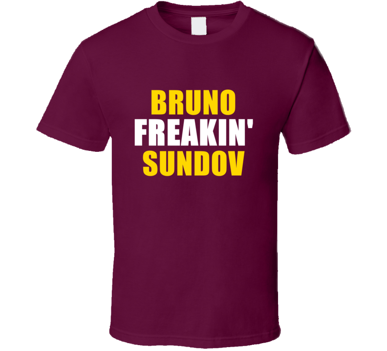 Bruno Sundov Freakin Cleveland Sports Basketball T Shirt