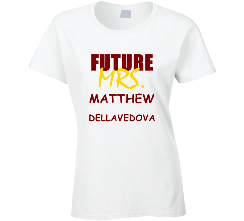 Matthew Dellavedova Future Mrs Funny Cleveland Sports Basketball T Shirt