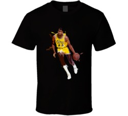 Magic Johnson Basketball player Los angelas T Shirt