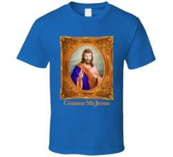 Connor Mcdavid MVP McJesus  Edmonton T Shirt