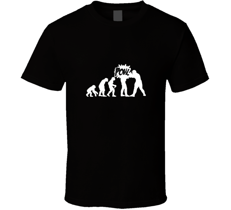 evolution of boxing T Shirt