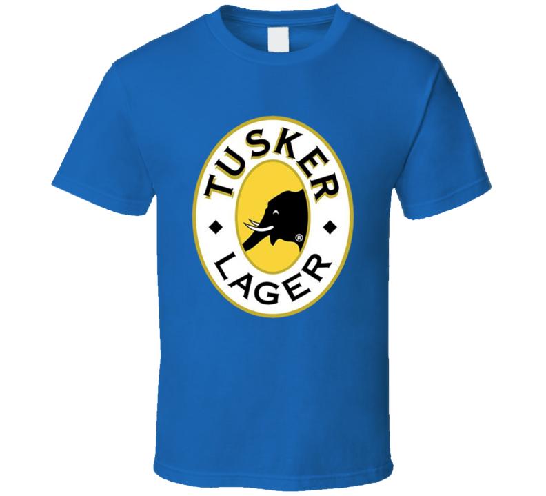 tusker lager beer elephant alchohol T Shirt