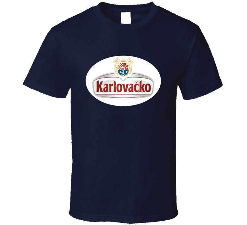 karlovacko beer lager T Shirt