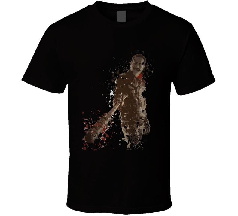 Lucille splatter TWD villain T Shirt