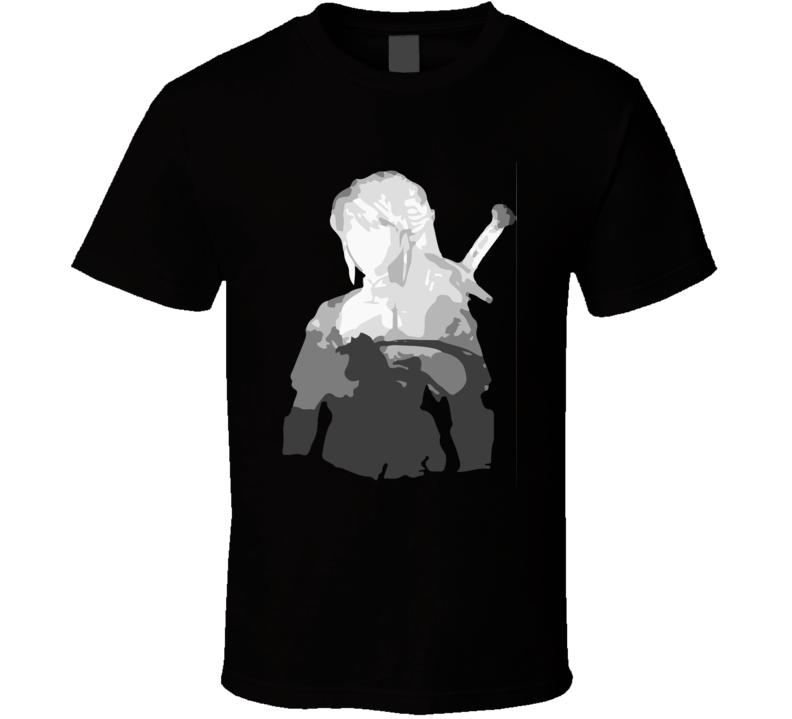 link sillouette zelda  T Shirt