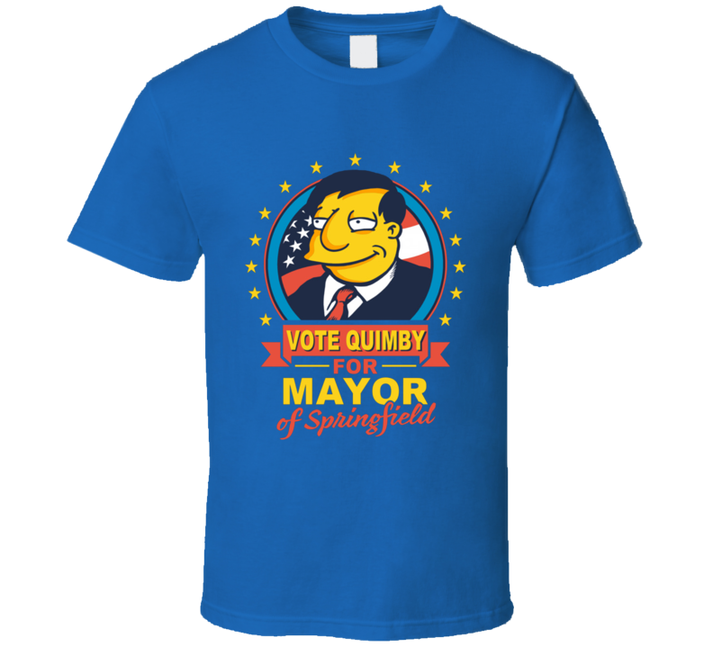 vote for quimby the simpsons T Shirt