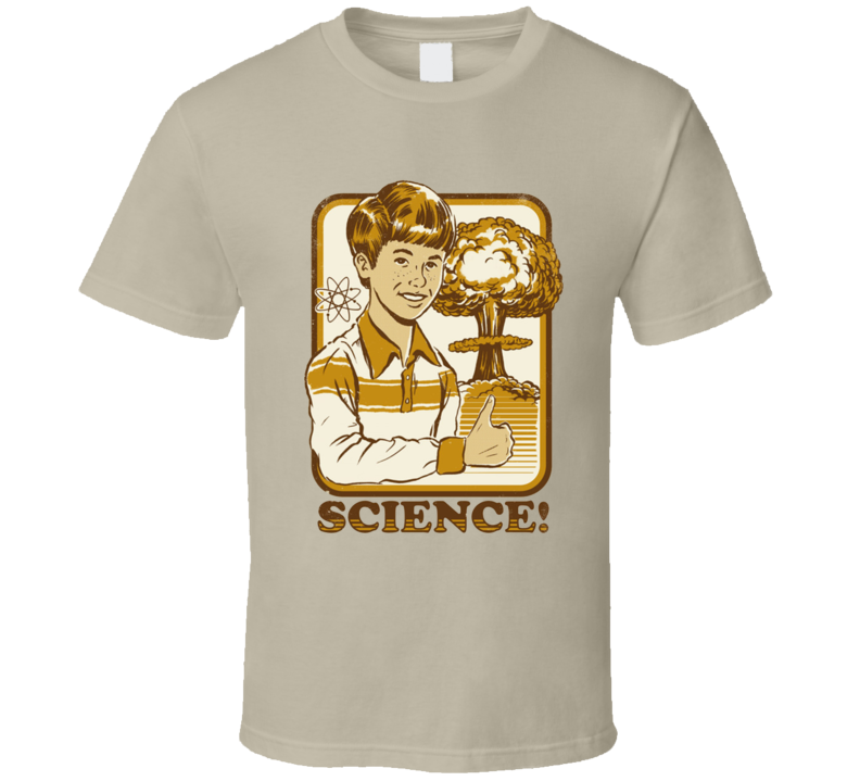 science! retro nuclear explosion T Shirt