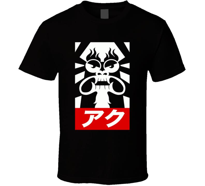 Obey Aku Samurai jack T Shirt