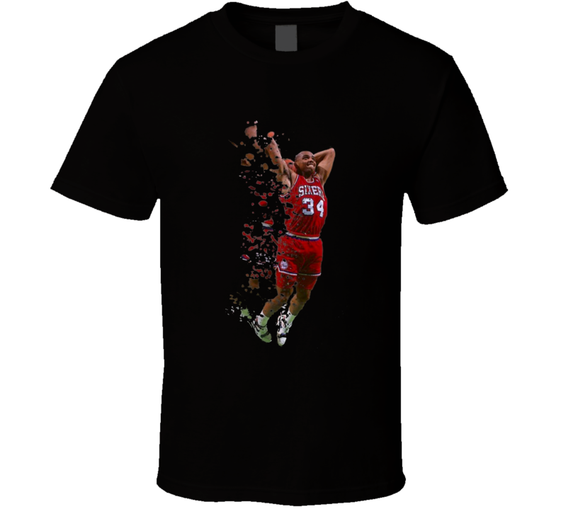 Charles Barkley Philadelphia T Shirt