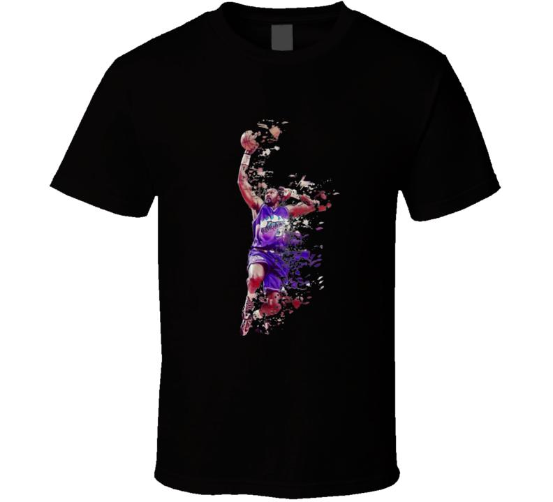Karl Malone Utah T Shirt