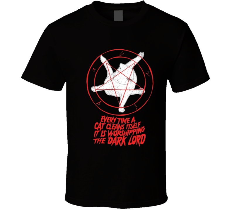 Cats worship satan T Shirt