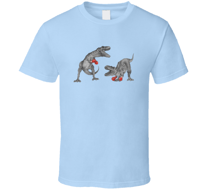 t-rex boxing T Shirt